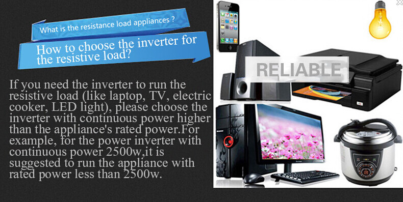 Professial Inverter Manufacturer, 3500W Off Grid Pure Sine Wave Inverter Solar/Appliance Power Inverter with LED Display