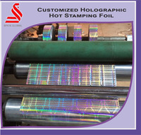 Custom Holographic Printing and Packaging Film Hot Laminating Film