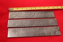 LUXURY DAMASCUS STEEL BILLET BLANK,BLADE, KNIFE MAKING SUPPLIES