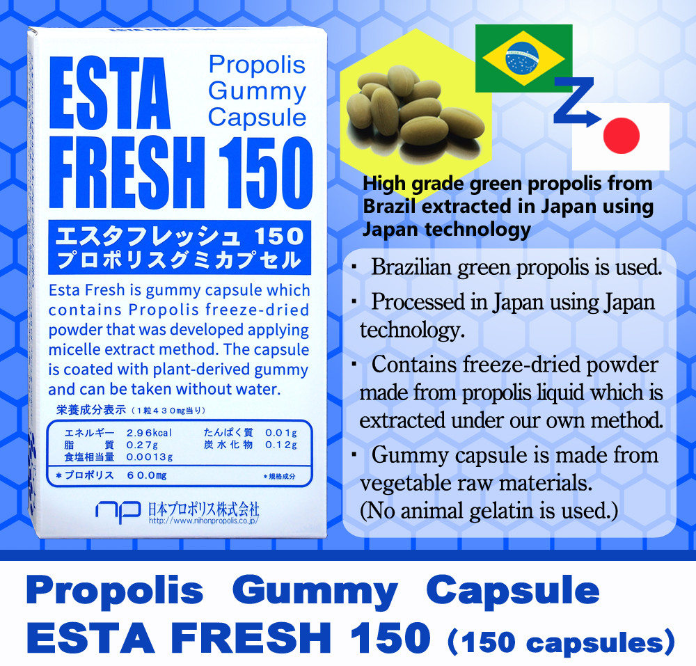High grade propolis supplement as Japan slimming products
