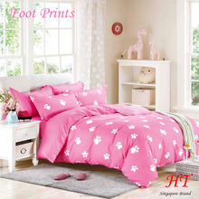 2017 New Designed Bed Sheet Set Homely designed 100% cotton feel fabric Direct Factory Company
