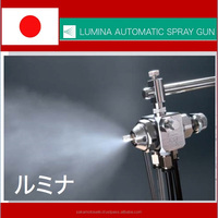 High pressure automatic simple use air spray gun made in Japan