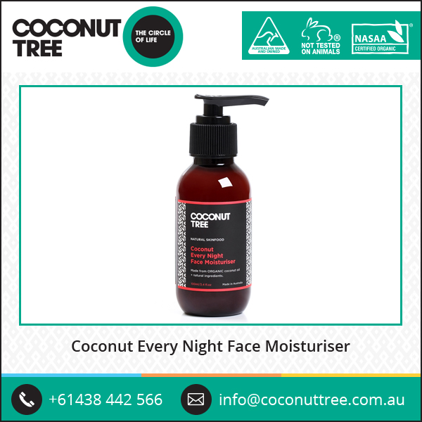 Highly Demanded Coconut Oil Face Moisturiser Coconut Night Cream