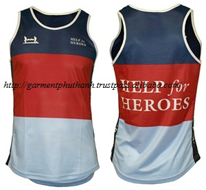 Sportswear Product Type ,sublimated running vest, running tank top