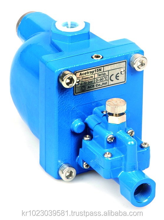 Condensate compressor energy saving solution with great quality drain trap gas valve