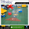 Heavy Duty Playground Rubber Tiles / Outdoor Flooring / Kid Rubber Floor Mat