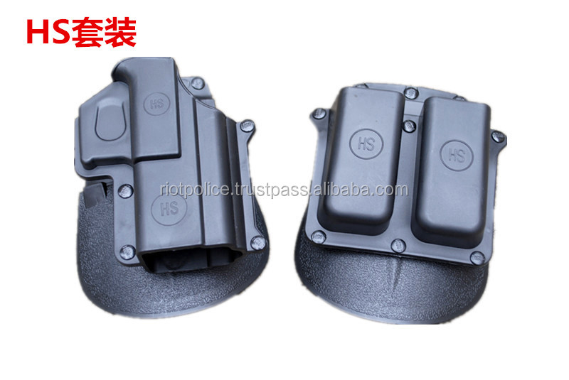 Tactical HS Holster double magazine paddle Right-hand style holster with a double clip