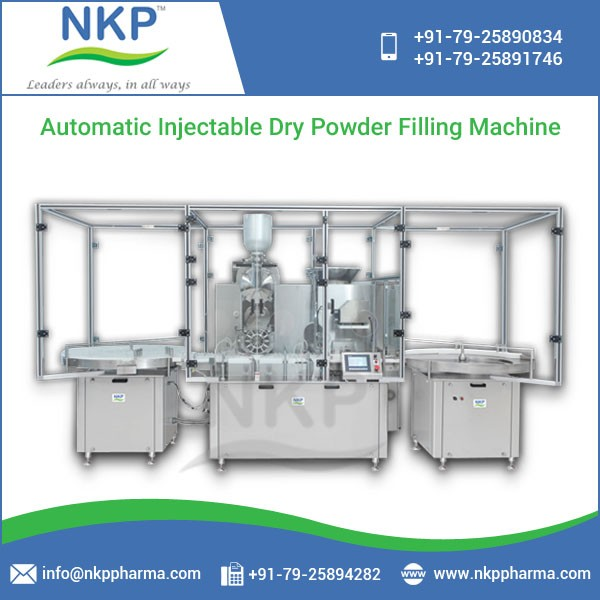 Good Quality Built Injectable Dry Powder Filling with Rubber Stoppering Machine
