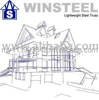 Mild Steel Structure Roof Truss, Metal Roofing & Insulation