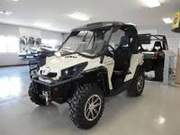 USED 2015 CN-AM COMMANDER 1000 LIMITED