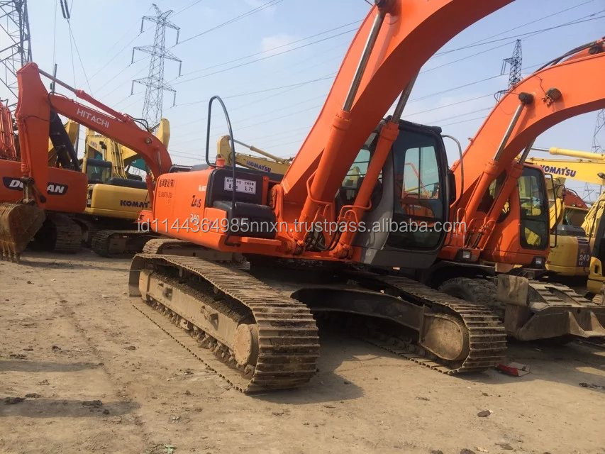 ZX 240 HITACHI USED EXCAVATOR Japan's original FOR SALE