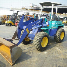 Used Komatsu mini wheel loader WA40