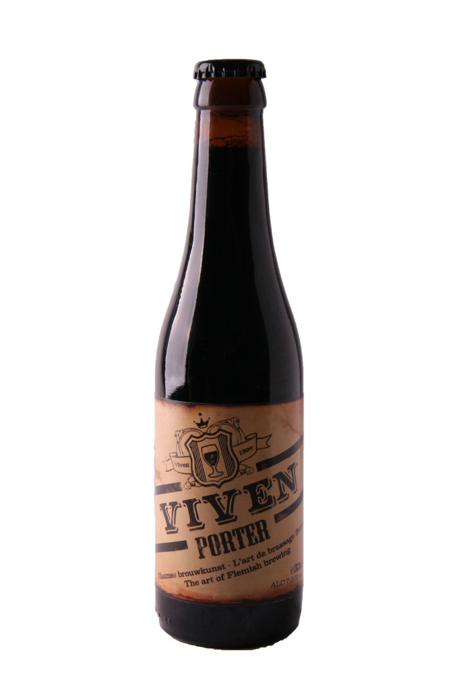 Belgian Beer - Viven Porter, 24 x 33 cl One Way