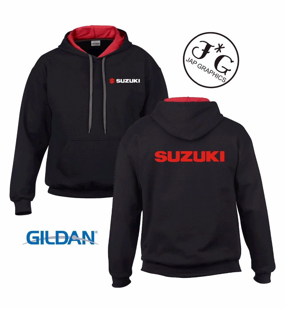 Casual Drawstring Hoodies/Suzuki Printed Style - Customized Your Own Design