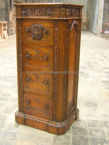 French Style reproduction furniture - president file cabinet antique furniture