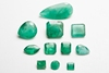 GEMSVILLAGE - 19,02 CARATS NATURAL STONE LOT OF EMERALD
