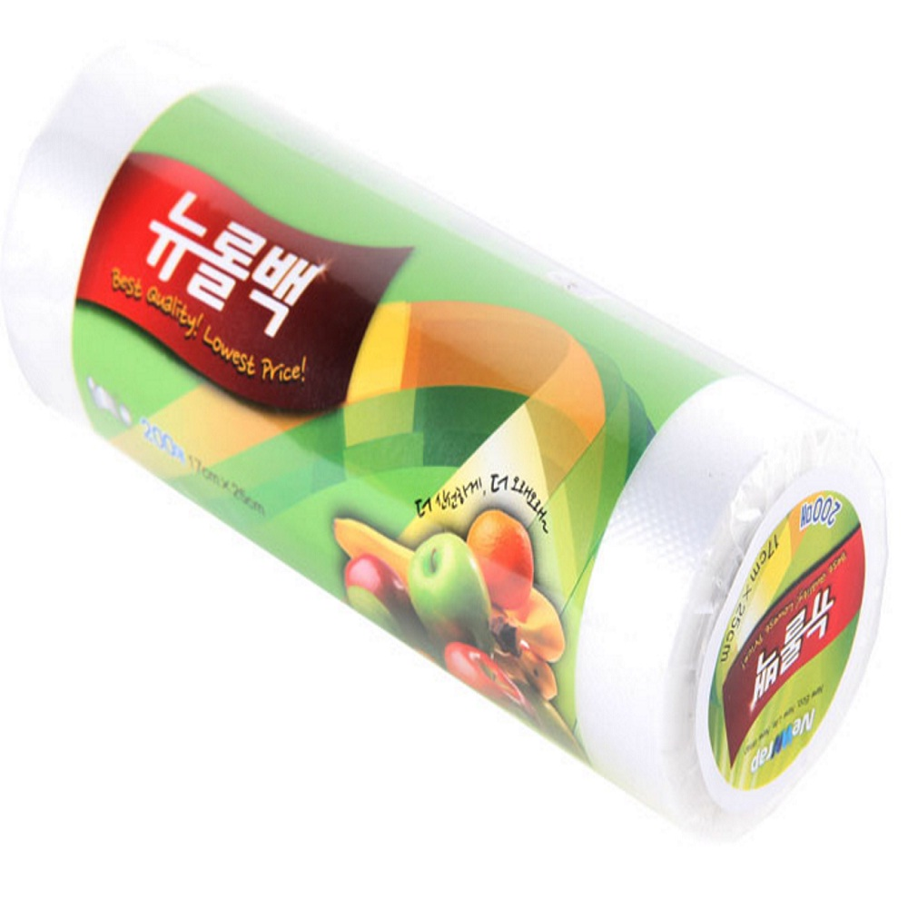 Food paper Roll Bag / Keep mear, fish and fruit fresher