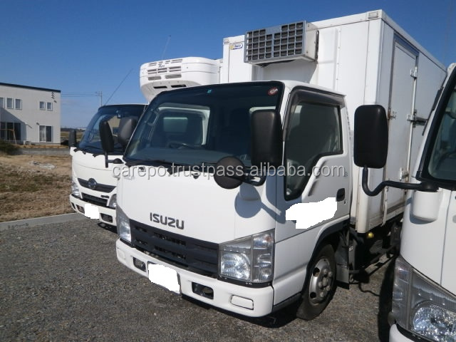 EXPORT FROM JAPAN SECOND HAND RIGHT HAND DRIVE CARS FOR ISUZU ELF TRUCK BKG-NJR85AN 2008