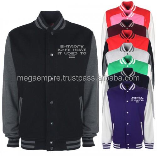 Sports Varsity Jackets, Sports Team Varsity Letterman Jacket, Pink Varsity Jackets