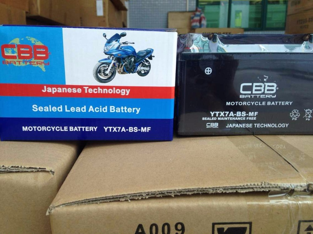 CBB Battery 12V 6Ah Maintenance Free Motorcycle Battery