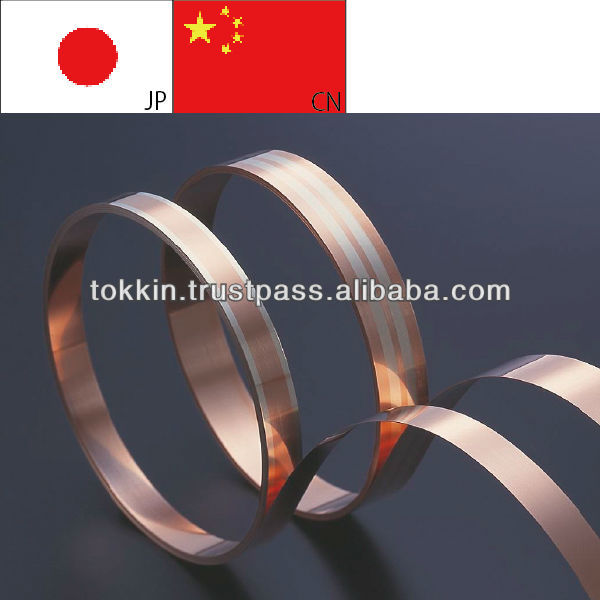 copper stainless steel clad STRIPs/Coil/Sheet, thickness 0.04-1.2mm, width 5.0-150mm,