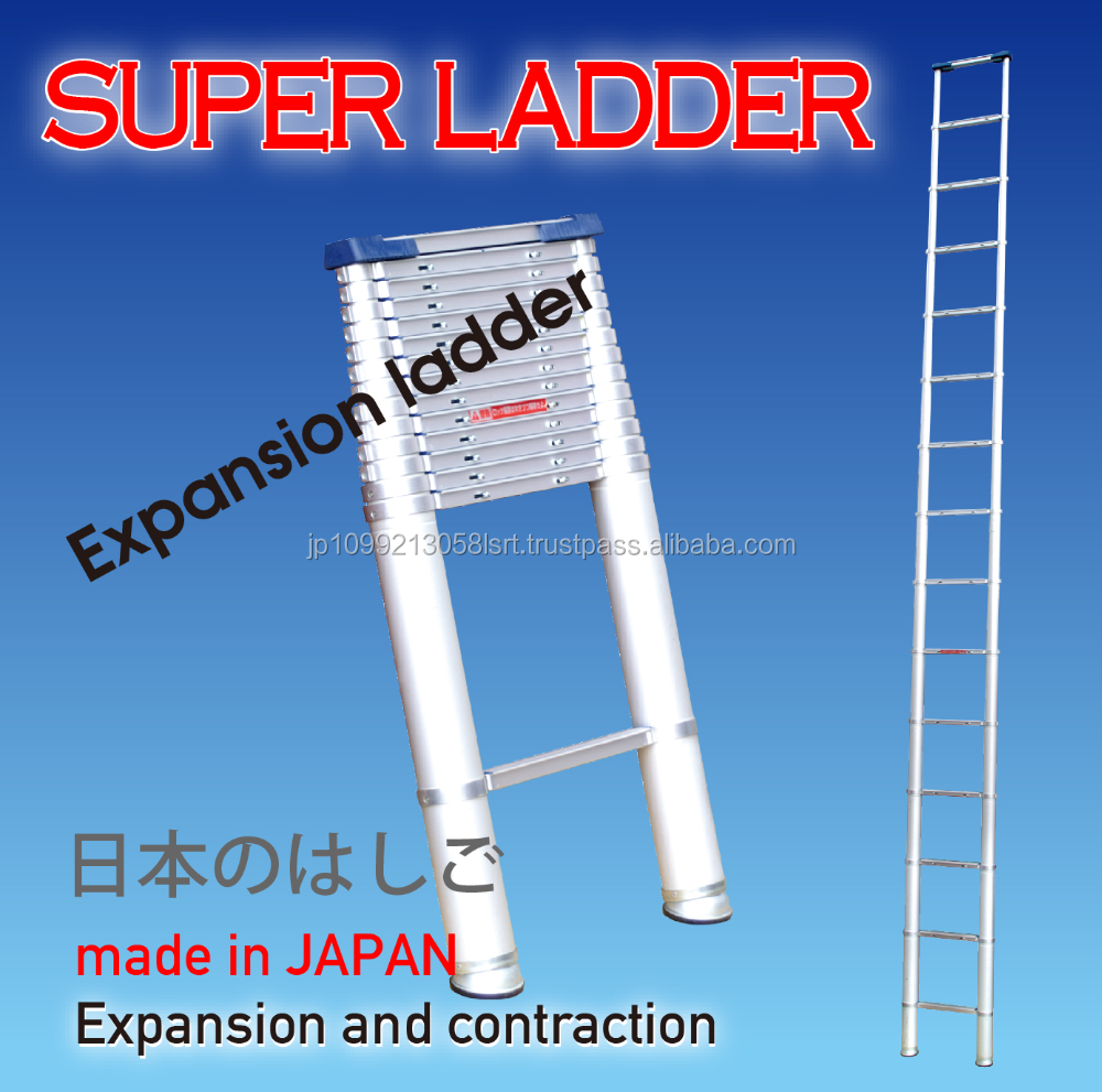 Safe to use portable telescopic stepladder made with aluminum alloy