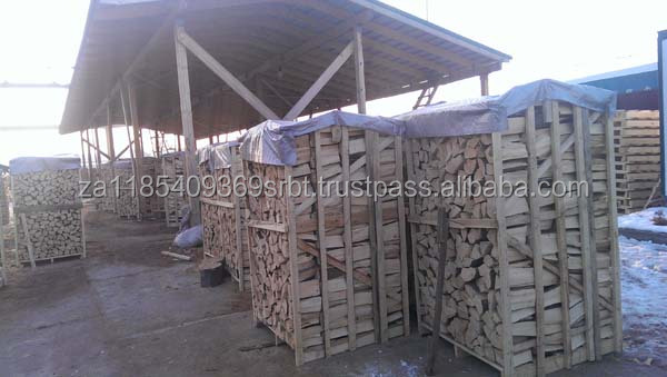 Firewood on pallets - beech and hornbeam