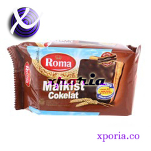 ROMA MALKIST Biscuit Crackers CHOCOLATE 150gr | Indonesia Origin