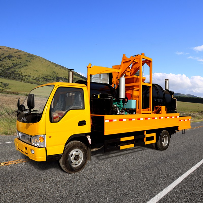 China Factory Mobile Truck Mounted Asphalt Patch Plant