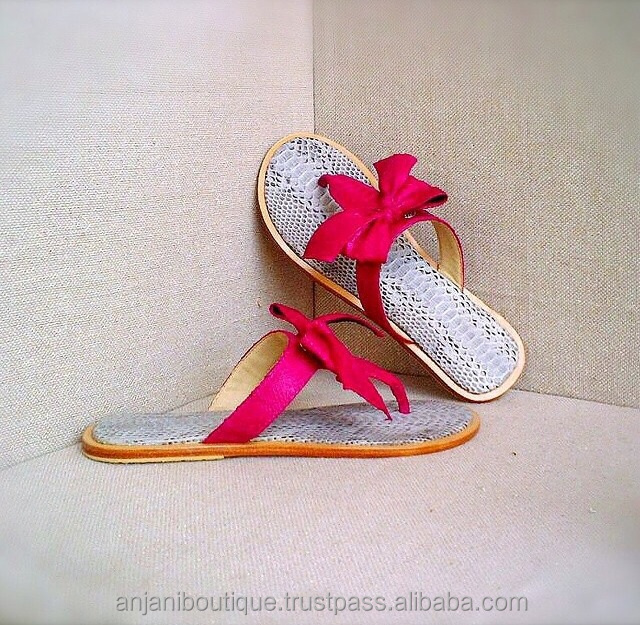 Luxury Casual Ribbon Flip Flops Sandal