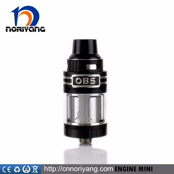 OBS 23mm Engine mini RTA Fast shipping Original OBS Engine Mini RTA With Two Post Build Deck