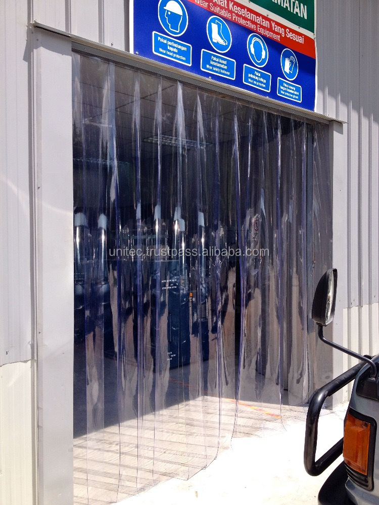 INDUSTRIAL PVC CURTAIN FOR LABORATORY | BATCHING PLANT | CONCRETE PLANT|R&D