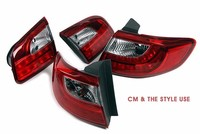[AUTO LAMP] Santa Fe CM/The Style - Q7-Style LED Taillights Set (no.1761)