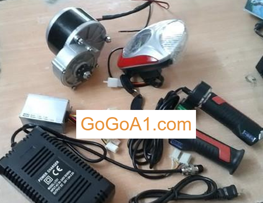GoGo A1 48v 1000w motor e bike kit 48V1000W electric bicycle front rear wheel conversion kit