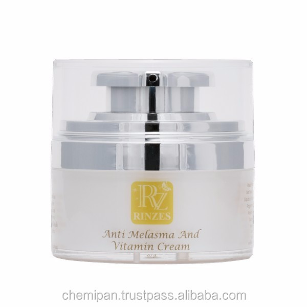[RN0303] Rinzes Anti Melasma and Vitamin Cream 30g.