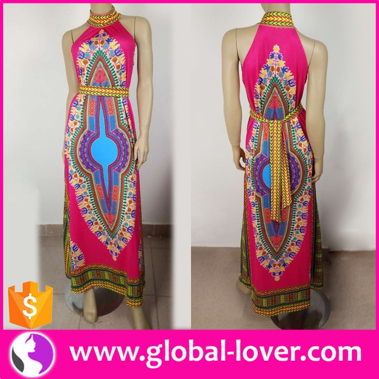Wholesale Print African Clothing , African Dashiki, 2016 New Design African Dresses for Women