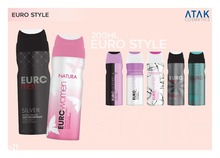 Euro Style Perfumed Body Spray