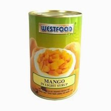 Canned Mango in Syrup