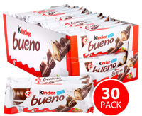 Retail Pack Kinder Bueno Milk Chocolate 30 x 43g