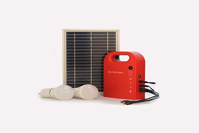 PLASTIC KIT FOR SOLAR HOME LIGHT SYSTEM WITH MOBILE CHARGING FACILITY
