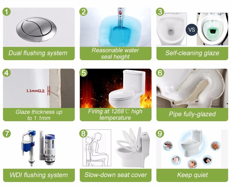 Foshan Ceramic Toilet Commode Porcelain Water Closet In India Price ...