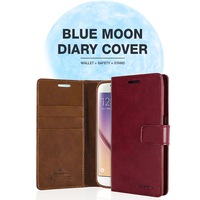 01089 For iPhone 6/6S/6 Plus/6S Plus/5/5S/SE/LG K10/V10_Mercury Bluemoon Diary_Smart Cellular Mobile Phone Case Cover Casing