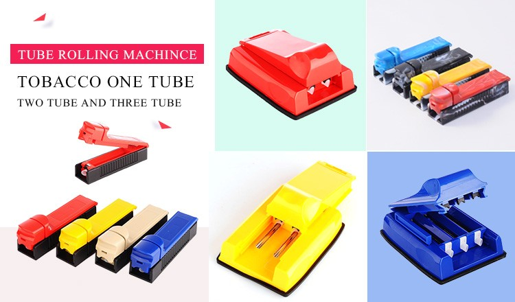 JL-002B Tube ABS Plastic Rolling Machine Commercial Tobacco Cigarette Rolling Machine