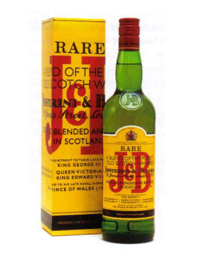 J&B Rare Scotch Whisky 1000ml