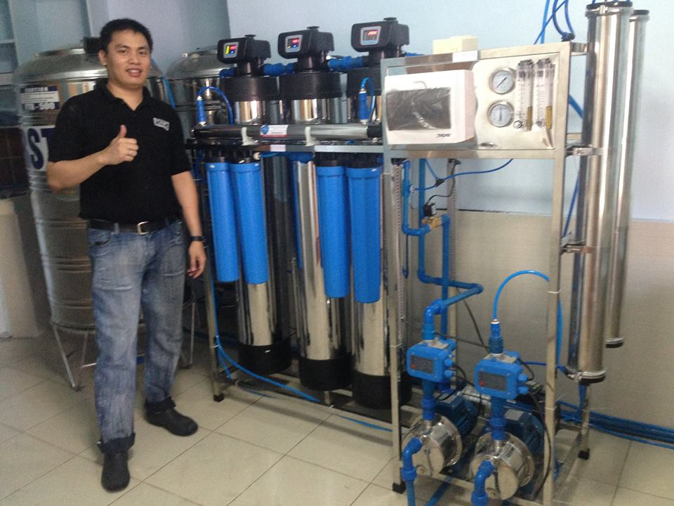 21 STAGE REVERSE OSMOSIS MACHINE