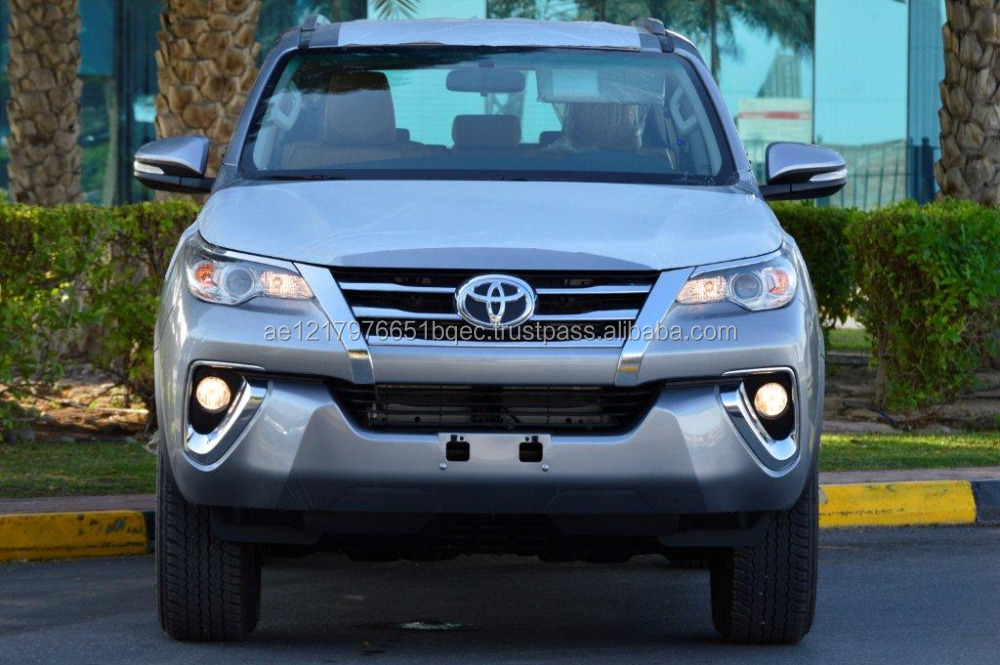 2017 MODEL BRAND NEW CARS EXPORT FROM DUBAI TOYOTA FORTUNER 2.4L DIESEL AUTOMATIC