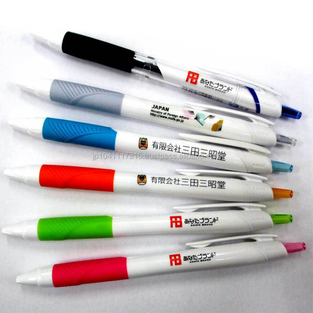 uni jetstream smooth writing mitsubishi ball pen with logo