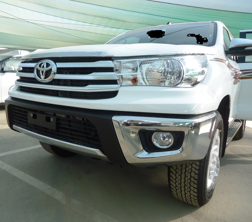 2017 Toyota Hilux Petrol Manual 2.7L 4WD Premium Double Cab NEW SHAPE