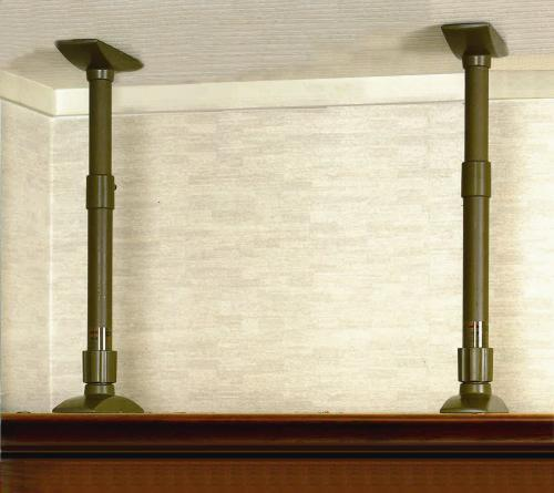 easy to use and best selling furniture falling prevention stretch bars; earthquake sensor