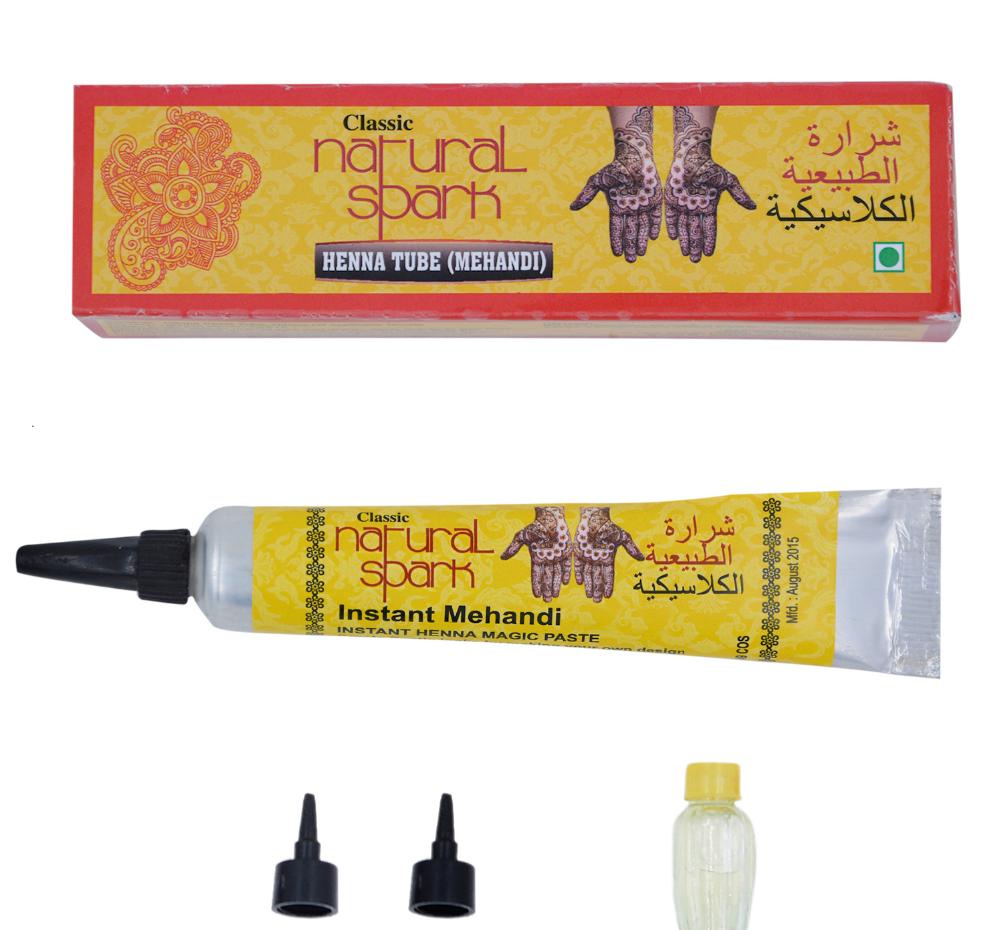 Natural Henna Tube
